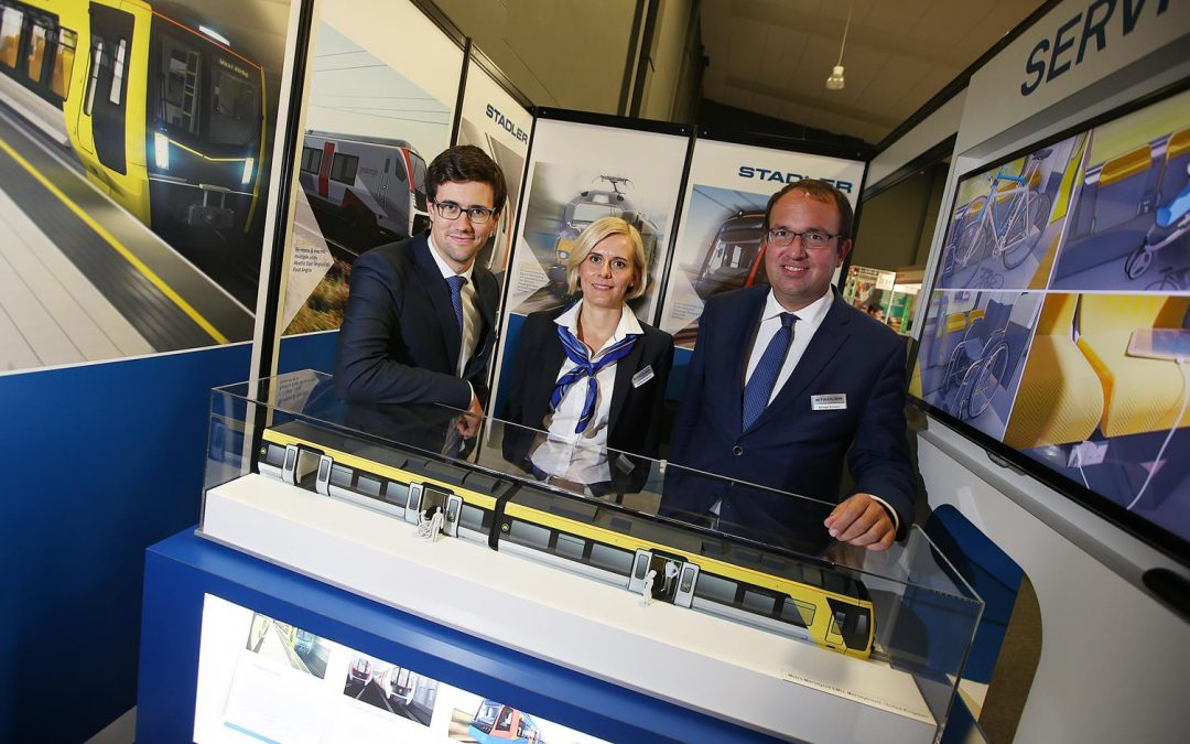 Stadler Rail UK confirmed as EMCON's headline sponsor