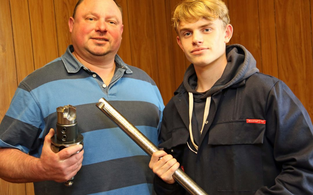 EMCON exhibitor keeps it in the family with apprentice appointment