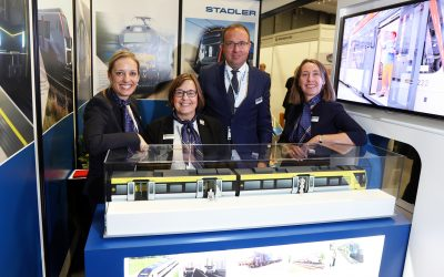 Stadler Rail returns as headline sponsor for the second year running