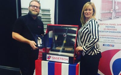 Exhibitor News: Sagetech wins top award for engraving services