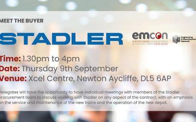 HEADLINE SPONSOR NEWS: Meet the buyer is coming to EMCON.