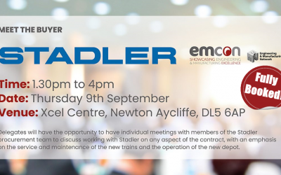 HEADLINE SPONSOR NEWS: Meet the buyer is coming to EMCON. (Fully Booked)