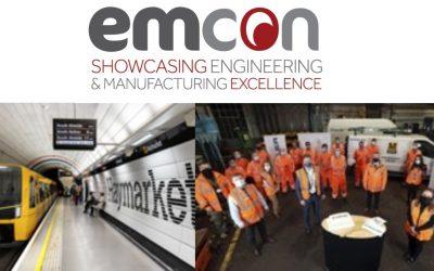 HEADLINE SPONSOR NEWS: Stadler, builder of the new trains for the Tyne and Wear Metro, to return to EMCON for third year as headline sponsor